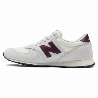 New Balance 420 Mens Casual Shoes White Burgundy (CDSL1284)