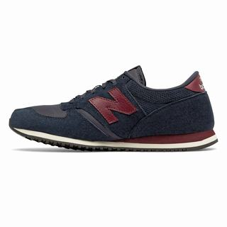 New Balance 420 Womens Casual Shoes Navy Burgundy (EYJC8263)