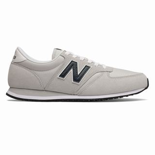 New Balance 420 Womens Casual Shoes Grey Black (GTQR7190)