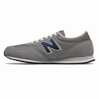 New Balance 420 Womens Casual Shoes Grey Navy (ZYXS9250)
