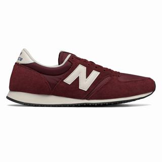 New Balance 420 Womens Casual Shoes Dark Red White (UPEG6215)