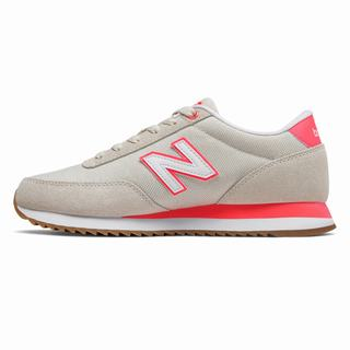 New Balance 501 Womens Casual Shoes Beige Orange (EQKI9905)