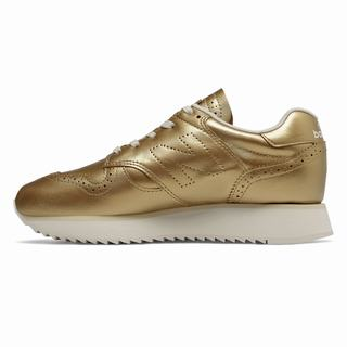 New Balance 520 Platform Womens Casual Shoes Metal Gold (GKYH8930)