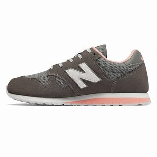 New Balance 520 Womens Casual Shoes Grey Pink (FNGI2922)