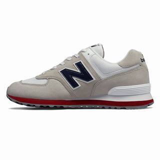 New Balance 574 Core Plus Mens Casual Shoes Gray Navy (GNMO7422)