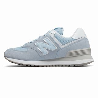 New Balance 574 Essentials Womens Casual Shoes Blue White (FJNI3824)