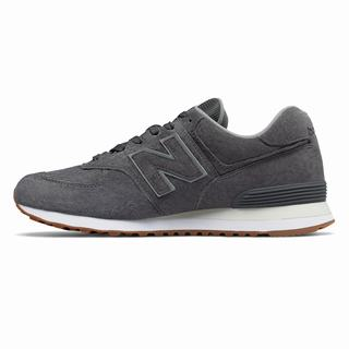 New Balance 574 Mens Casual Shoes Grey (POVH2756)