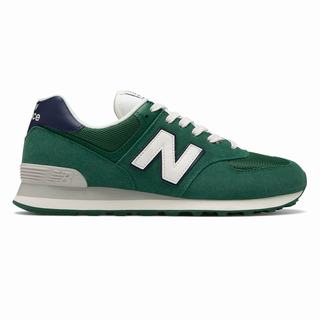 New Balance 574 Mens Casual Shoes Green Navy (OTVN9094)