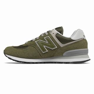 New Balance 574 Mens Casual Shoes Olive (XJFB9011)
