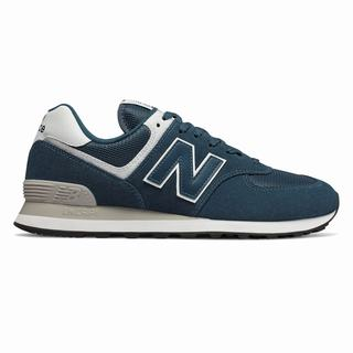 New Balance 574 Mens Casual Shoes White (ITBJ9986)