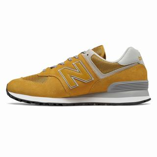 New Balance 574 Mens Casual Shoes Yellow (DMAG8200)
