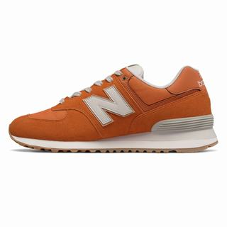 New Balance 574 Natural Outdoor Mens Casual Shoes Orange (NXFQ6552)