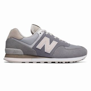 New Balance 574 Retro Surf Mens Casual Shoes Grey Pink (OXIK9776)