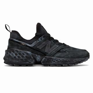 New Balance 574 Sport Mens Casual Shoes Black (FUOW2059)