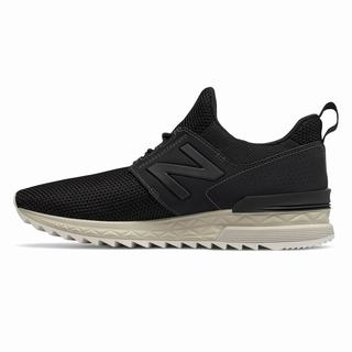 New Balance 574 Sport Mens Casual Shoes Black (TVUW8529)