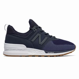 New Balance 574 Sport Mens Casual Shoes Indigo (STVI5377)