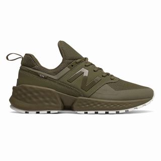 New Balance 574 Sport Mens Casual Shoes Green (CKRH8785)