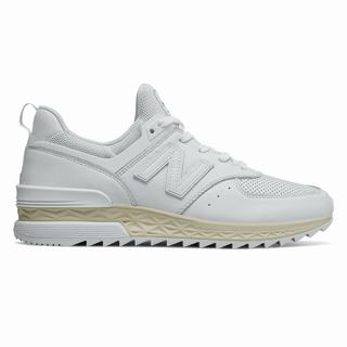 New Balance 574 Sport Mens Casual Shoes White (JHSE9403)