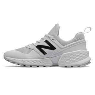 New Balance 574 Sport Mens Chunky Trainers White (HCUB4411)