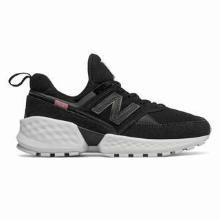New Balance 574 Sport Womens Casual Shoes Black (TWZC4128)