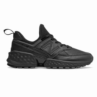 New Balance 574 Sport Womens Casual Shoes Black (OYSL8547)
