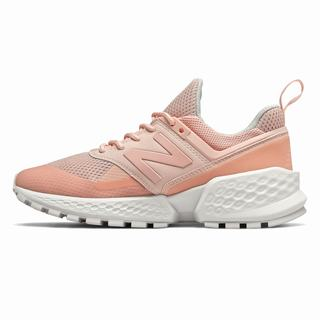New Balance 574 Sport Womens Casual Shoes Pink (GXJM2354)