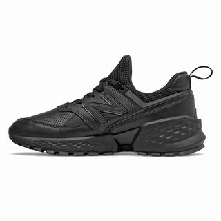 New Balance 574 Sport Womens Chunky Trainers Black (OHTV2691)