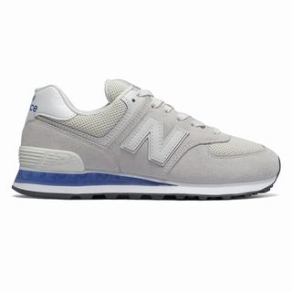 New Balance 574 Womens Casual Shoes White Blue (WBUF9424)
