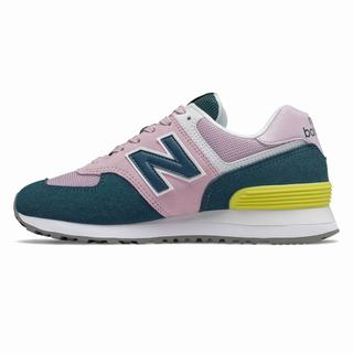 New Balance 574 Womens Casual Shoes Black (HJES9237)