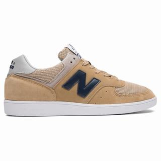 New Balance 576 Made in UK Mens Casual Shoes Beige Navy (RYUW8393)