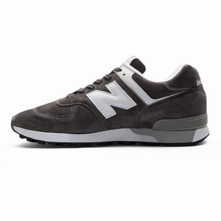New Balance 576 Made in UK Mens Casual Shoes Dark Grey White (MJHL3004)