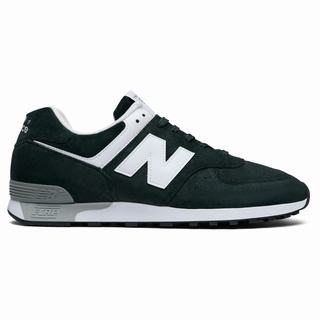 New Balance 576 Made in UK Mens Casual Shoes Green White (PICW7582)