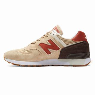 New Balance 576 Made in UK Mens Casual Shoes Tan Brown (OYGR8335)