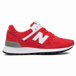 New Balance 576 Made in UK Womens Casual Shoes Pink White (GVDW2315)