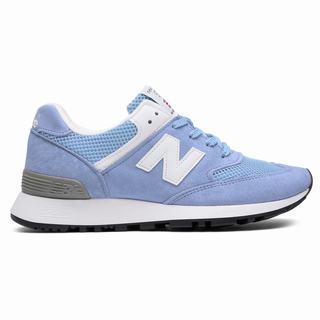 New Balance 576 Made in UK Womens Casual Shoes Blue White (WHMP7830)