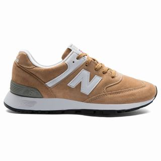 New Balance 576 Made in UK Womens Casual Shoes Brown White (JFMS2150)