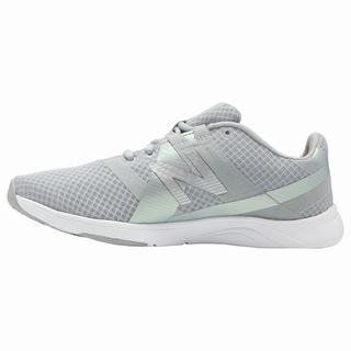 New Balance 611 Womens Training Shoes Grey White (RQZM4895)