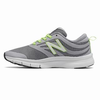 New Balance 713 Trainer Womens Training Shoes Silver Light Green White (MTJU7642)