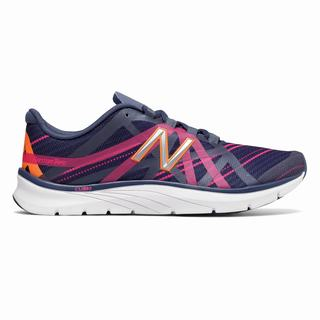New Balance 811v2 Graphic Trainer Womens Casual Shoes Indigo Pink Brown (HXZV7165)