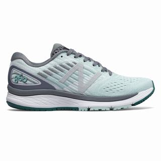 New Balance 860v9 Womens Running Shoes Turquoise Grey (FTGV9860)