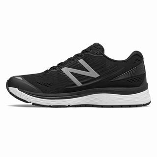 New Balance 880v8 Mens Running Shoes Black White (XWKQ5351)