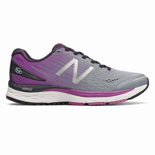 New Balance 880v8 Womens Running Shoes Purple Light Blue (JGOU8685)