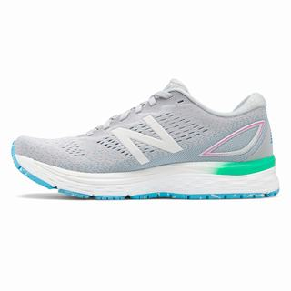 New Balance 880v9 Womens Casual Shoes Light Grey Grey (MDCZ1626)
