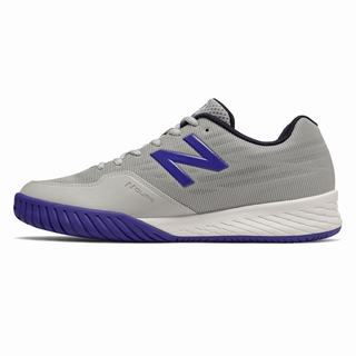 New Balance 896v2 Mens Tennis Shoes Light Grey Blue (DRFS7268)