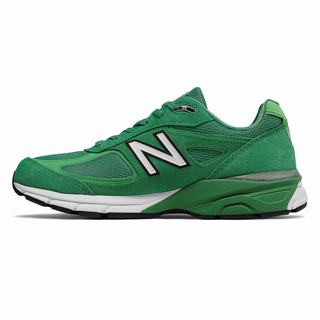 New Balance 990v4 Made in US Mens Casual Shoes Green (SRQV2176)