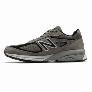 New Balance 990v4 Made in US Mens Casual Shoes Grey Black (GHVC1982)