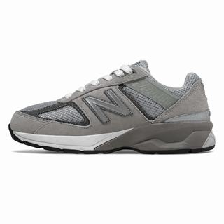 New Balance 990v5 Kids Casual Shoes Grey (XFHP6977)