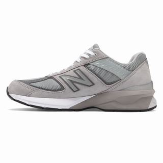 New Balance 990v5 Made in US Mens Casual Shoes Grey (DNIG9327)