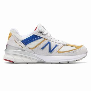 New Balance 990v5 Made in US Womens Casual Shoes Red (UWFN6650)