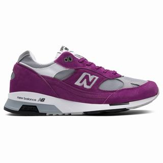 New Balance 991.5 Made in UK Mens Casual Shoes Purple Grey (IABQ7817)